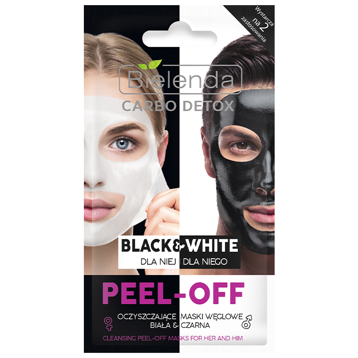 Bielenda Carbo Detox PeelOff Mask For Her And Him фото