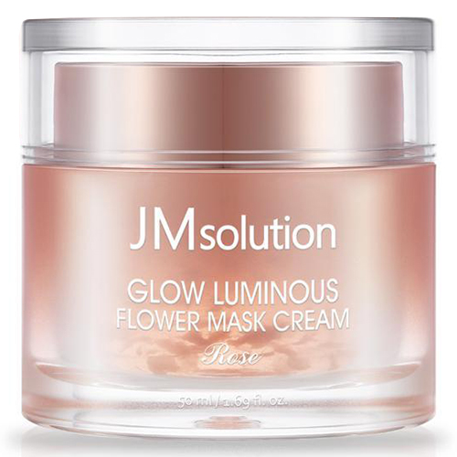 JMsolution Glow Luminous Flower Mask Cream Rose фото