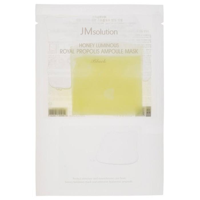 JMsolution Honey Luminous Royal Propolis Ampoule Mask Black фото