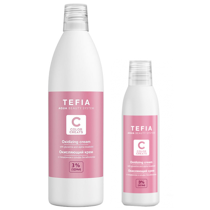 Tefia Oxidizing Cream vol фото