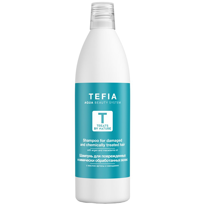 Купить Tefia Shampoo For Damaged And Chemically Treated Hair