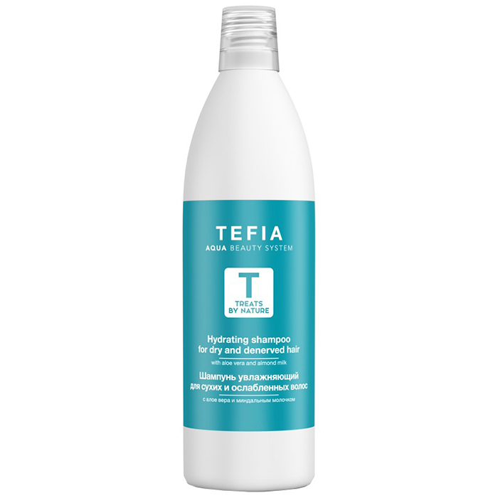 Tefia Hydrating Shampoo For Dry And Denerved Hair фото
