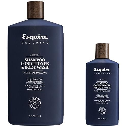 Chi Esquire Shampoo Conditioner And Body Wash фото