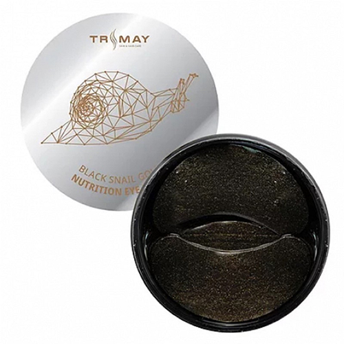 Trimay Black Snail And Gold Nutrition Eye Patch фото