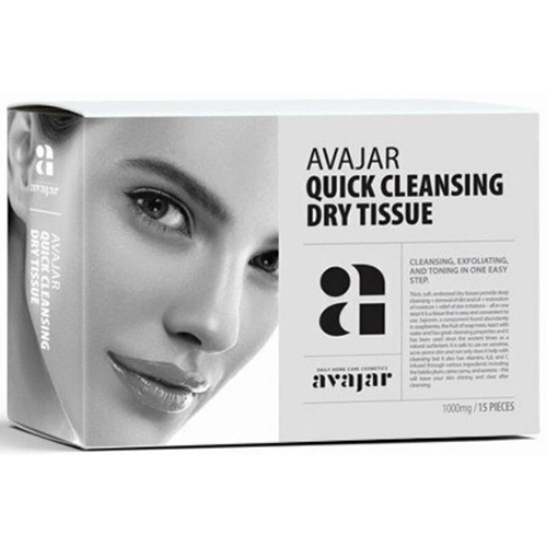 Avajar Quick Cleansing Dry Tissue фото