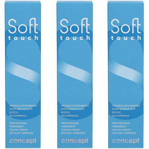 Concept Soft Touch Hair Color Cream Without Ammonia фото