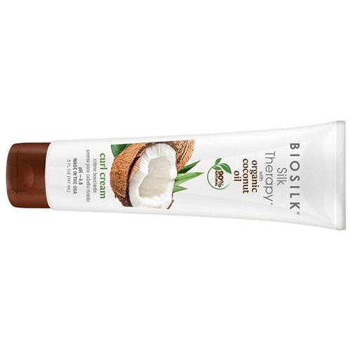 BioSilk Silk Therapy Curl Cream With Coconut Oil