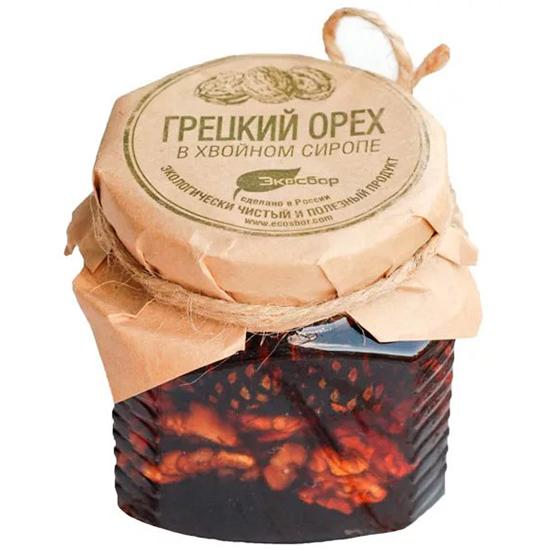 Варенье Экосбор варенье грецкий орех в хвойном сиропе