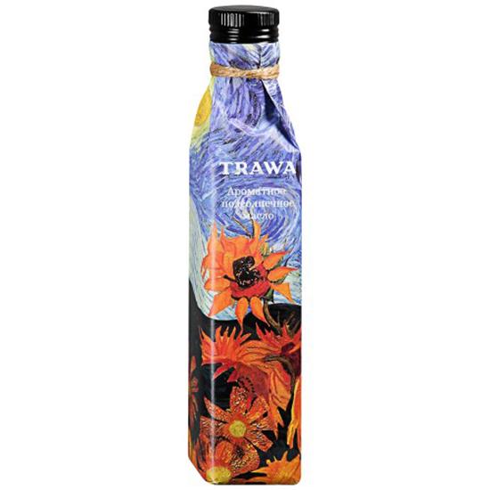 Масло Trawa масло подсолнечное из обжаренной семечки