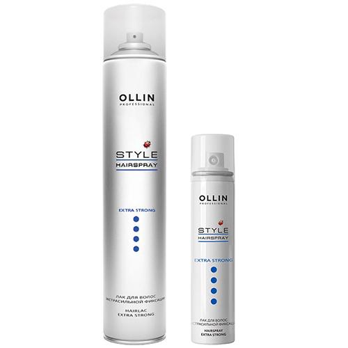 Купить Ollin Professional Style Extra Strong Hair Spray