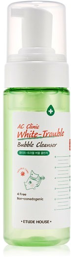 Etude House AC Clinic WhiteTrouble Bubble Cleanser