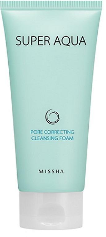 Missha Super Aqua Pore Cleansing Correcting Foam