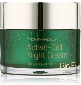 Tony Moly Bio Ex Active Cell Night Cream фото