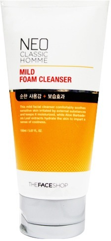 The Face Shop Neo Classic Homme Mild Foam