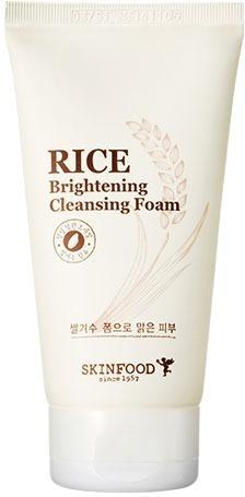 Skinfood Rice Brightening Cleansing Foam
