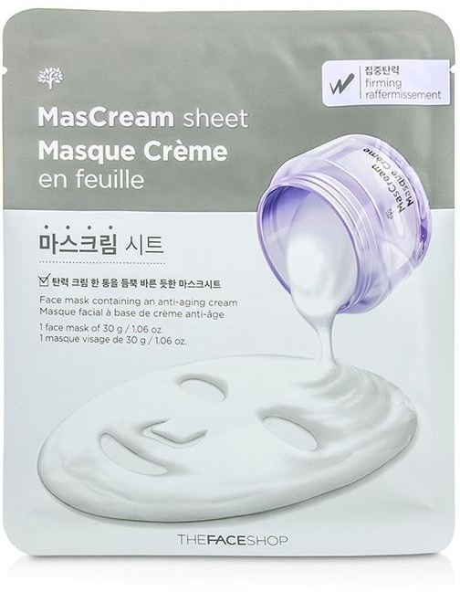 The Face Shop Intense Masream Sheet Friming
