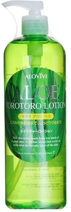 Alovivi Aloe Torotoro Lotion.