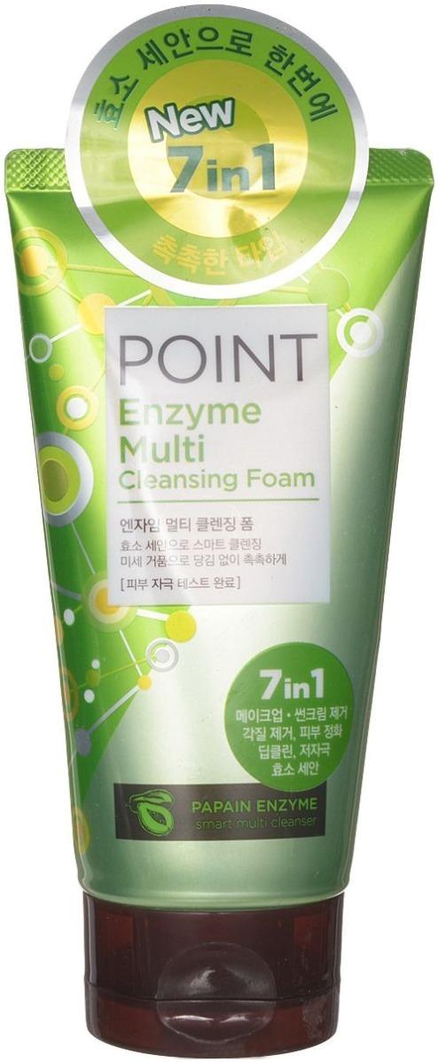 Пенка для умывания с экстрактом папайи KeraSys Point Enzyme Multi Cleansing Foam