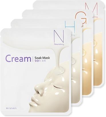 Missha CreamSoak Mask фото