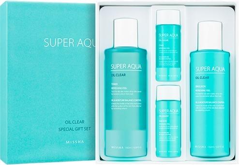 Missha Super Aqua Oil Clear Special Gift Set фото
