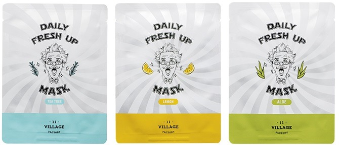 Купить Village Factory Daily Fresh Up Mask, Village 11 Factory