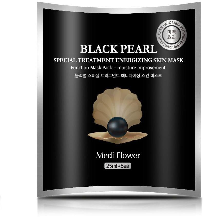 Medi Flower Special Treatment Energizing Skin Mask Black Pearl фото
