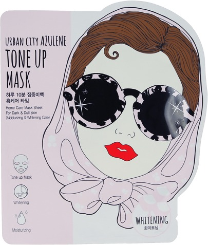 Baviphat Urban Dollkiss City Azulene Toneup Mask