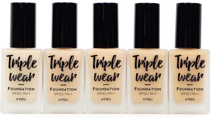 APieu Triple Wear Foundation SPF  PA