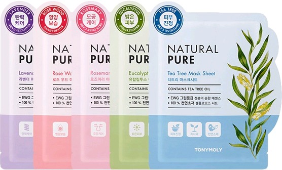 Tony Moly Natural Pure Mask Sheet