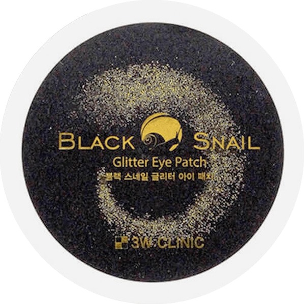 W Clinic Black Snail Glitter Eye Patch фото