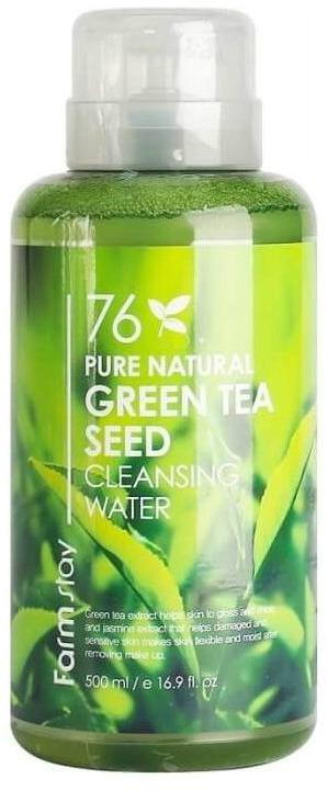 Купить FarmStay Pure Natural Green Tea Cleansing Water