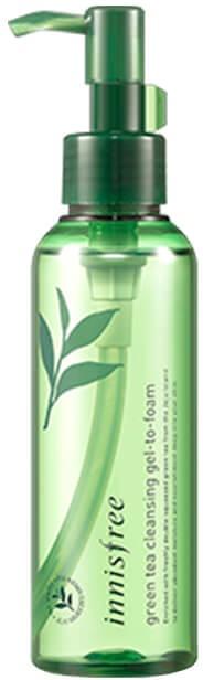 Innisfree Green Tea Cleansing GelToFoam фото