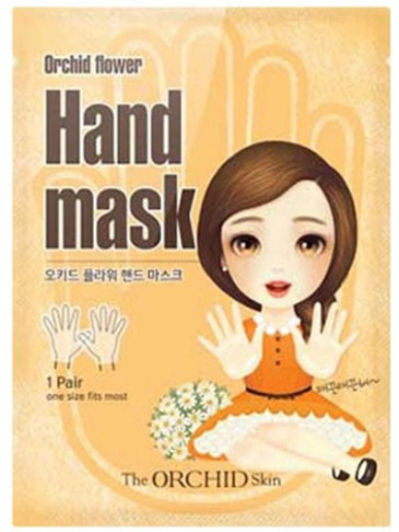 The Orchid Skin Hand Mask Sheet фото