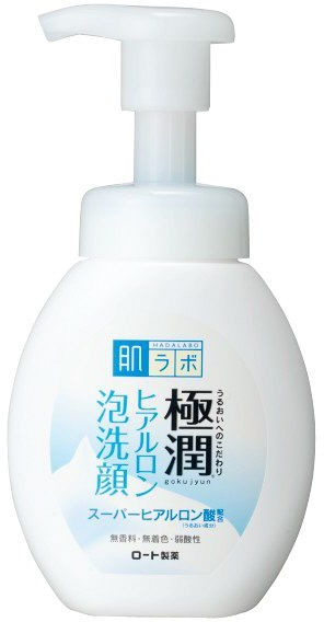 Hada Labo Gokujyun Foaming Face Wash