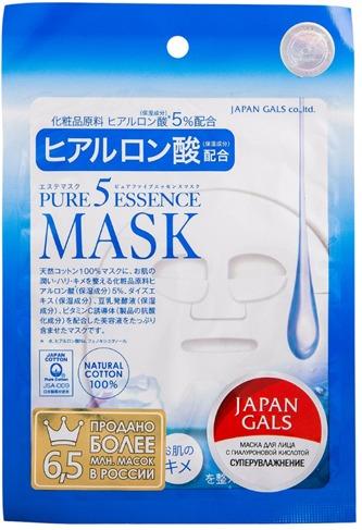 Japan Gals Hyaluronic Acid Essene Mask