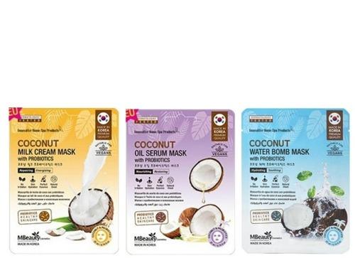 MBeauty Coconut Mask With Probiotics фото