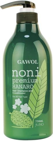 Juno Gawol Noni Premium Hanaro Hair Shampoo and Conditioner фото