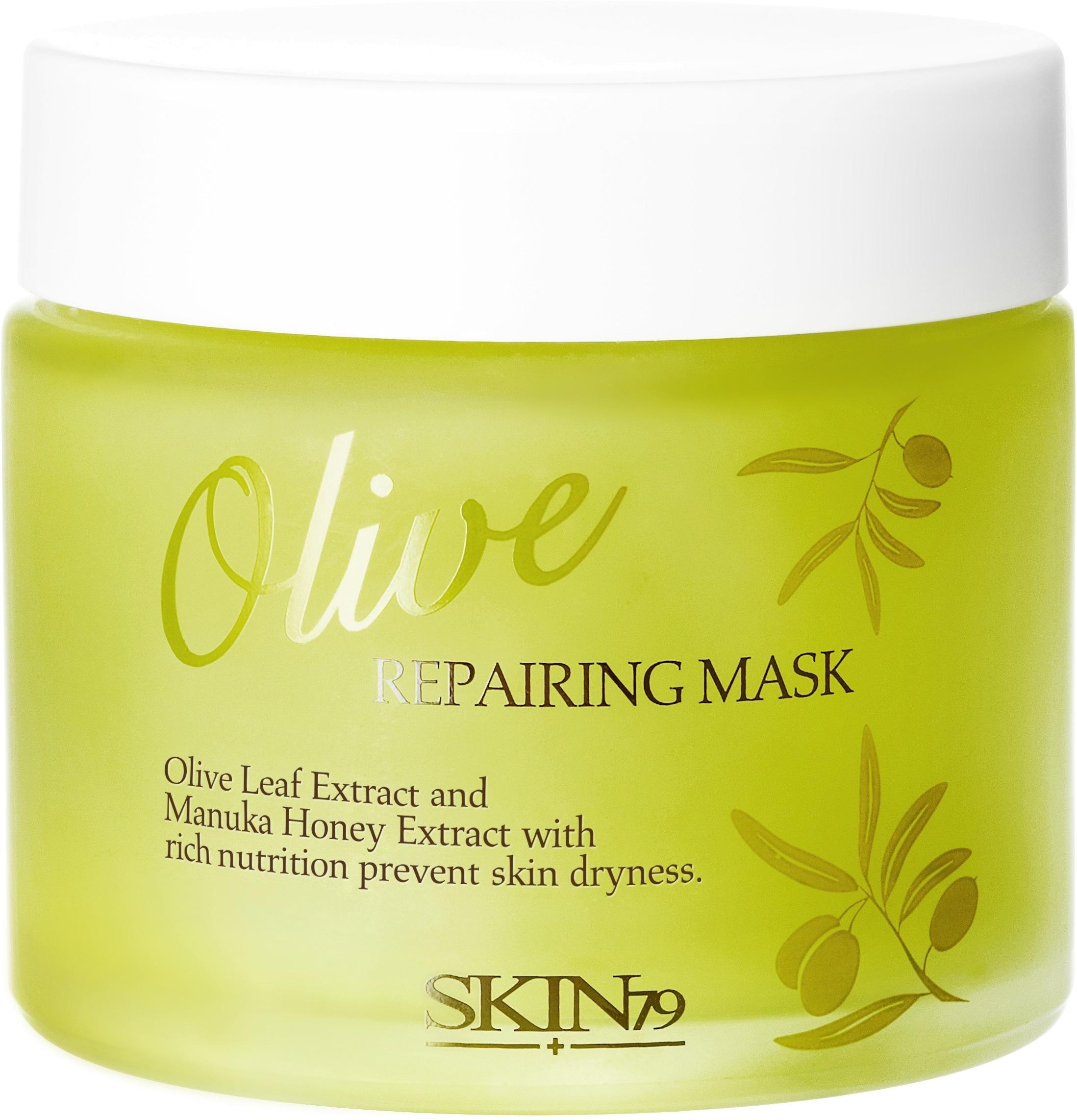 Skin Olive Repairing Mask.
