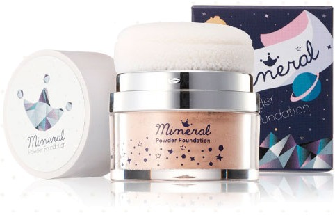 Shara Shara Mineral Powder Foundation.