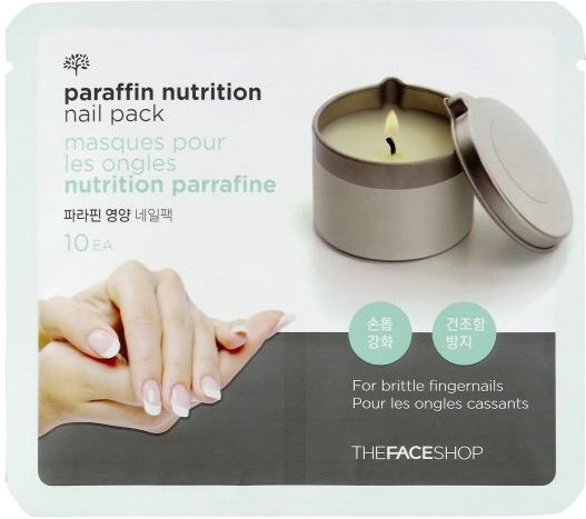 The Face Shop Nutrition Paraffin Nail Pack