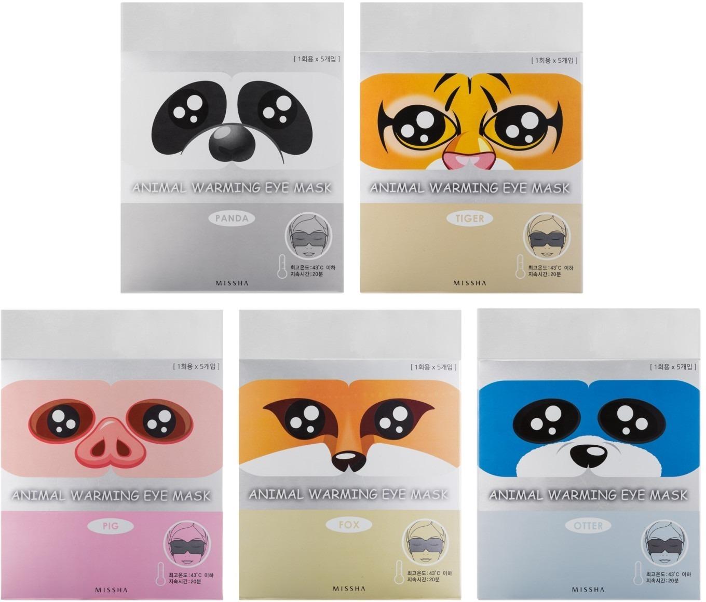 Missha Animal Warming Eye Mask