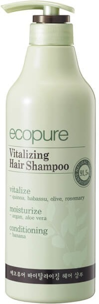 Ecopure Vitalizing Hair Shampoo.