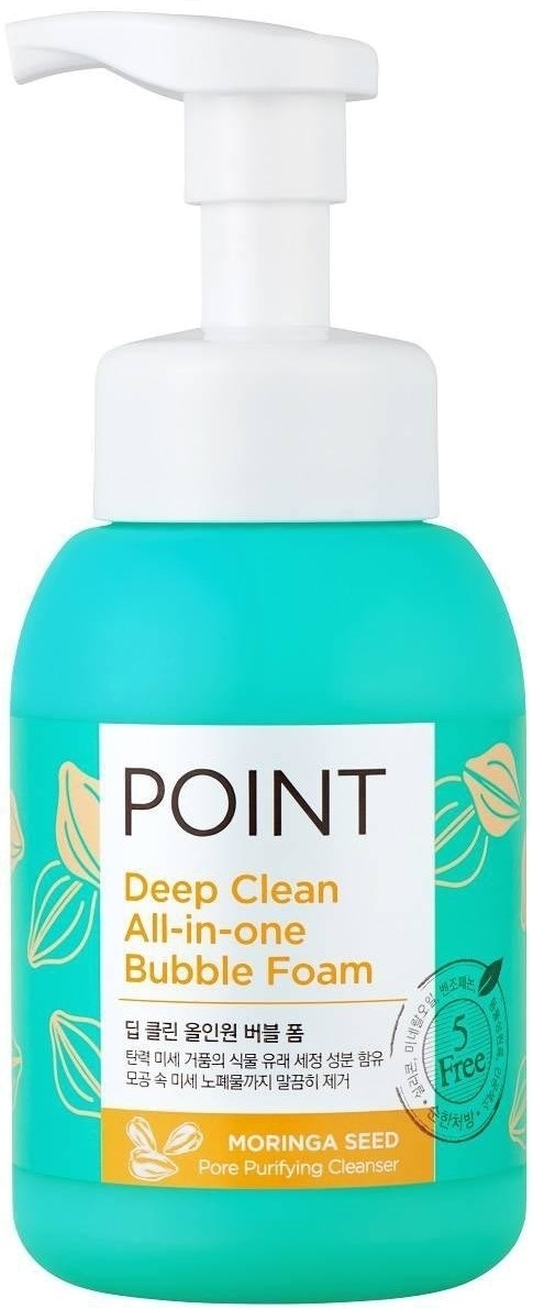Мусс для умывания KeraSys Point Deep Clean All-in-One Bubble