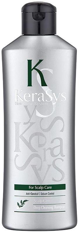 Шампунь уход за жирной кожей головы KeraSys Scalp Care Sebum Control Deep Cleansing Shampoo