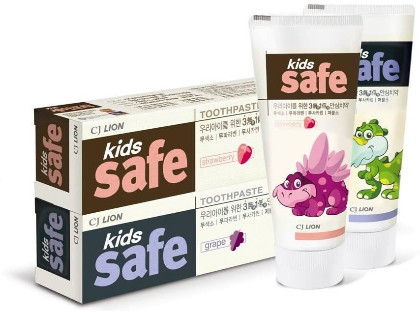 Cj Lion Kids Safe Toothpaste