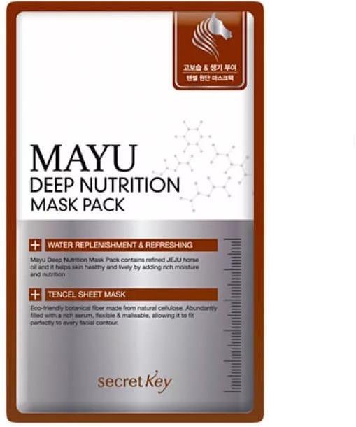 Secret Key Mayu Deep Nutrition Mask Pack фото