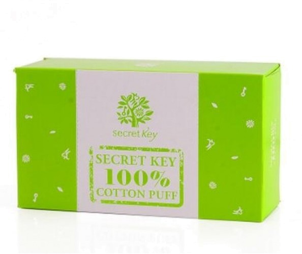 Secret Key  Cotton Puff