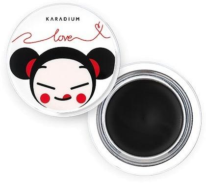 Karadium Creamy Gel Eyeliner Pucca Edition.