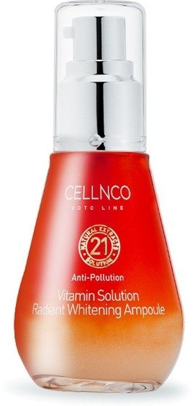 Cellnco Boto Line Vitamin Solution Radiant Whitening Ampoule.