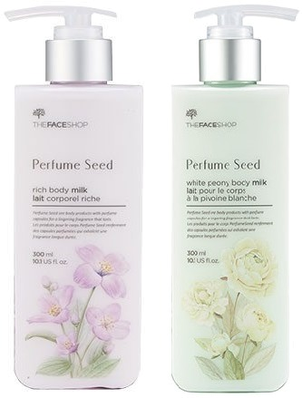 The Face Shop Perfume Seed Body Milk